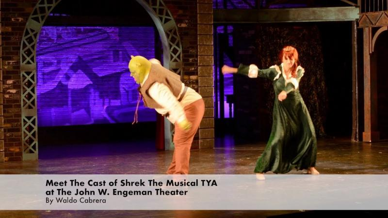 Meet The Cast of Shrek TYA at the John W  Engeman Theater
