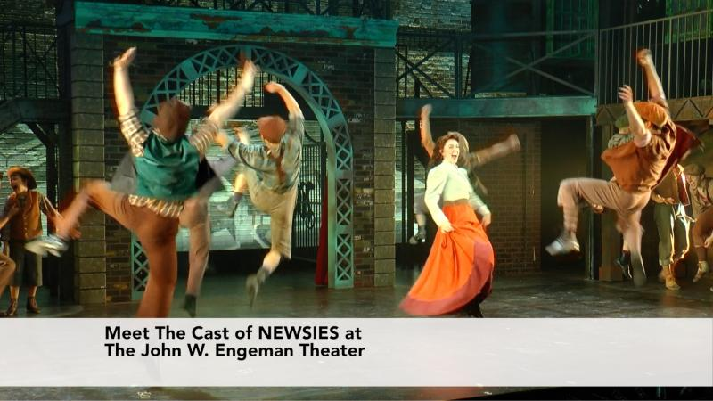 Meet The Cast of Newsies at the John W. Engeman Theater