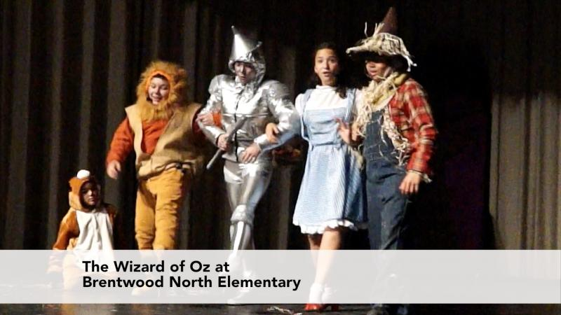 The Wizard of Oz at Brentwood North Middle School