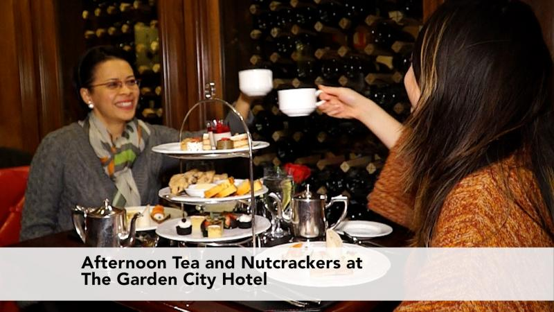 Afternoon Tea and Nutcrackers at The Garden City Hotel