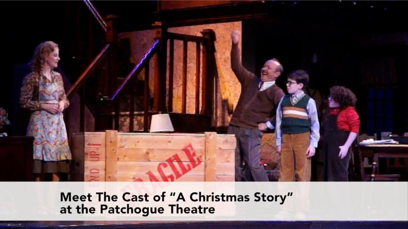 Meet The Cast of A Christmas Story in Patchogue