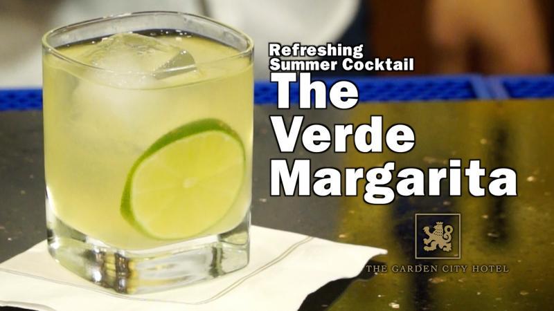 Milagro Tequila Refreshing Summer Drink - Verde Margarita
