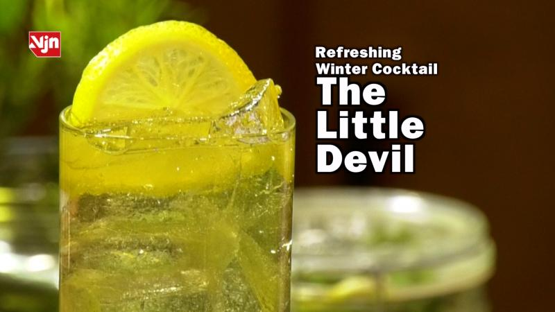 Reyka Vodka Refreshing Winter Drink - The Little Devil