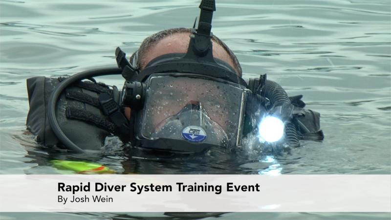 Bay Constables Hold a Rapid Diver System Training Event