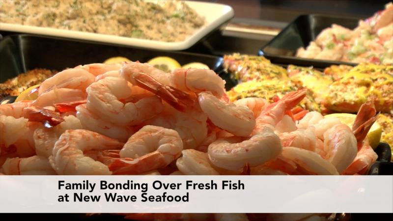 Family Bonding Over Fresh Fish at New Wave Seafood