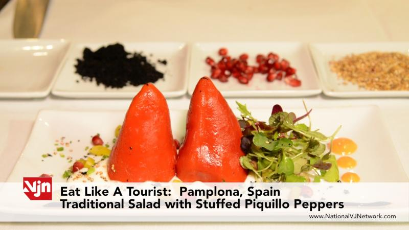Eat Like A Tourist: How Make Spanish Stuffed Piquillo Peppers - Pamplona, Spain