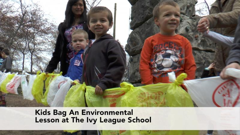 Supermarket Bags provide an Environmental Lesson for Students at the Ivy League School