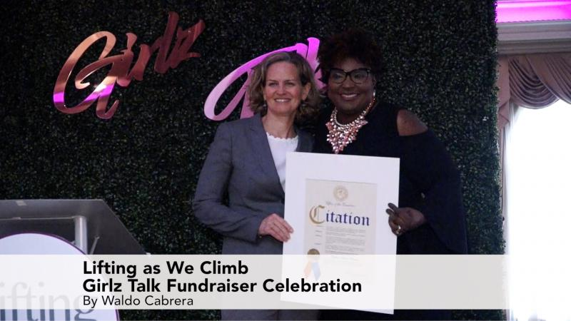Girlz Talk Lifting as We Climb Fundraiser