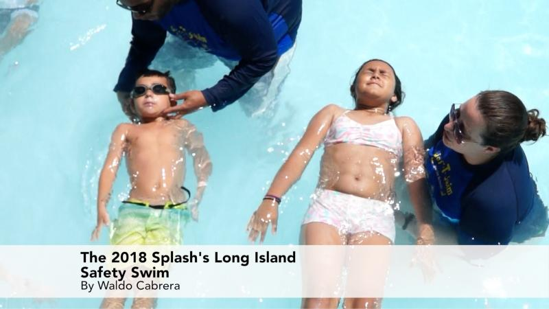 2018 Splash's Long Island Safety Swim Lesson